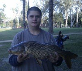 Fairmont park lake evans fishing in california for Lake perris fishing report